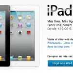 La Venta del iPad 2 en la Apple Online Store Empezará a las 02:00h