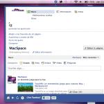 FaceBook para Mac.
