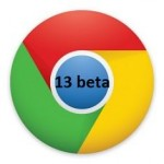 Google Chrome Beta 13 con Print Preview