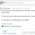 Google + restringe el envío de invitaciones