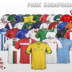 Playeras oficiales utilizadas en el mundial de sudafrica (PSD)