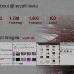 Twitter muestra ahora las imágenes recientes del usuario
