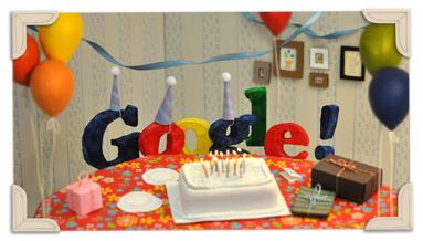 13 cumple google