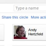 Ya podemos compartir nuestros circulos de Google+