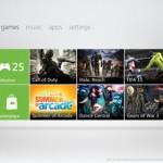 Microsoft lanza  una nueva interfaz para Xbox 360