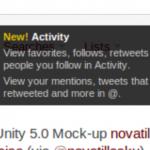 """Twitter agrega """"Activity"""", además de cambios en las menciones"""