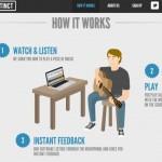 Instinct, la aplicación que te enseña lecciones de guitarra