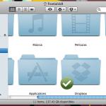 DropBox Comparte contenido entre tu Mac y tu Smartphone facilmente.