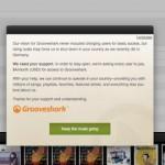 Grooveshark comenzó a cobrar