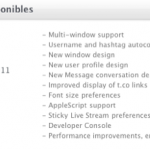 Twitter para Mac se Actualiza.
