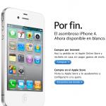 El iPhone 4 blanco ya esta aquí.