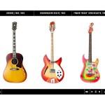 George Harrison llega a iPad junto a sus guitarras
