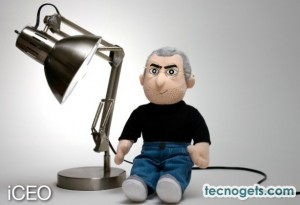 Steve Jobs Peluche