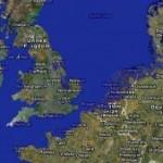 Mapa que muestra los efectos del cambio climático