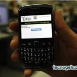 Alerta sísmica en tu BlackBerry