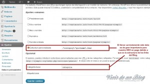 Enlaces Permanentes WordPress