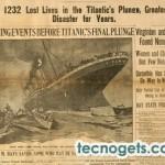 Nuevo virus con el aniversario del Titanic