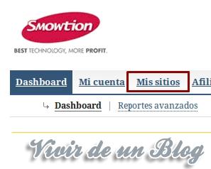 Registrar sitio en Smowtion