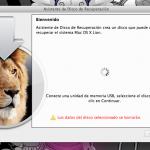 Lion Recovery Disk realiza un respaldo de Lion X