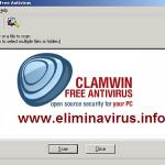 ClamWin antivirus gratuito de código abierto
