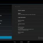 Imágenes filtradas del sistema operativo Android 4.2