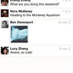 Facebook libera una aplicación de Chat para el iPhone
