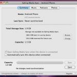 Sincroniza tu biblioteca de iTunes con tu telefono Android