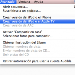 Convertir videos compatibles con tu iPod, iPhone, Apple Tv y iPad.