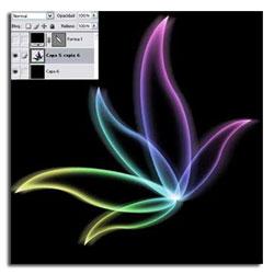 Tutorial Photoshop Flor de Cristal 05