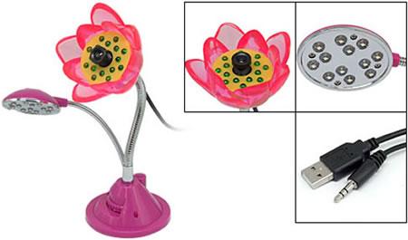 webcam flor
