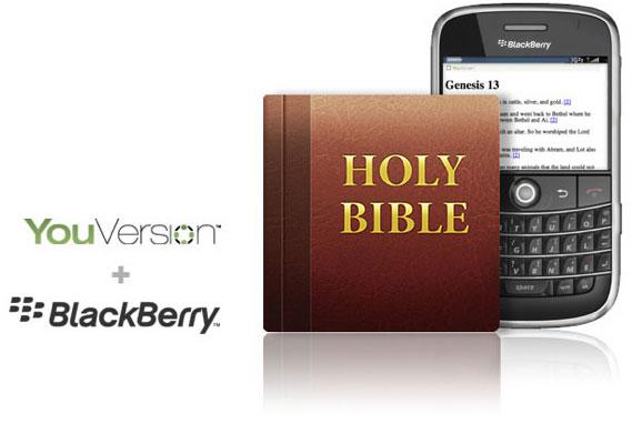 La bibilia para Blackberry