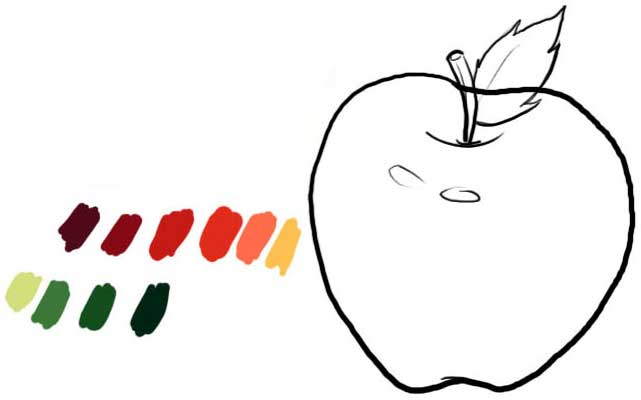 Apple and colors