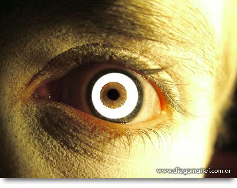 Efecto Ojo de Zombie