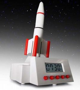 despertador lanzacohetes