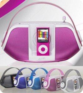 altavoces iPod Nano