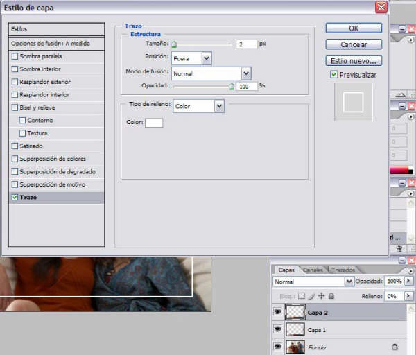 Tutorial Photoshop Marco Glaseado 04