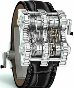 reloj vertical tourbillion
