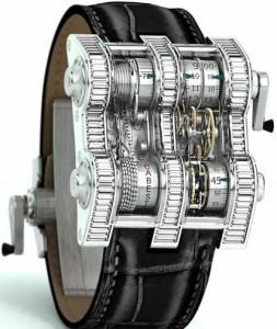 reloj vertical tourbillion