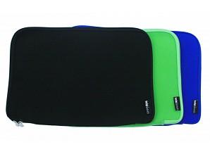 Soki Sleeves Funda portátil - verde / azul / negro
