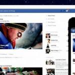Facebook muestra su nuevo diseño