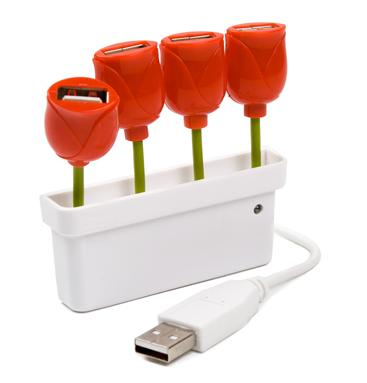 Tulipanes USB