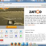 Ver la tele en tu Ubuntu con Zatoo