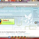 Hoy me descargo Firefox 3