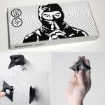 Estrellas ninja magnéticas