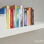 Soundshelf: Altavoces que sirven de estantería