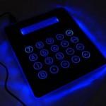 3 en 1: alfombrilla, calculadora y hub USB