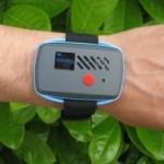 Sensaris sensor de pulsera que mide la calidad del aire