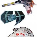 Réplicas a escala de las naves de Star Wars