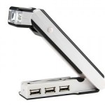 Hub USB con luz