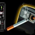 Teléfono móvil encendedor